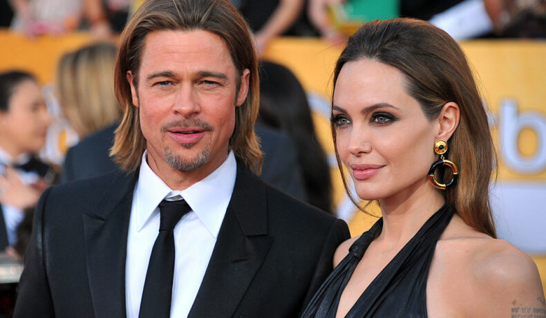 Angelina Jolie și Brad Pitt, la Annual Screen Actors Guild, în anul 2018, pe covorul roșu