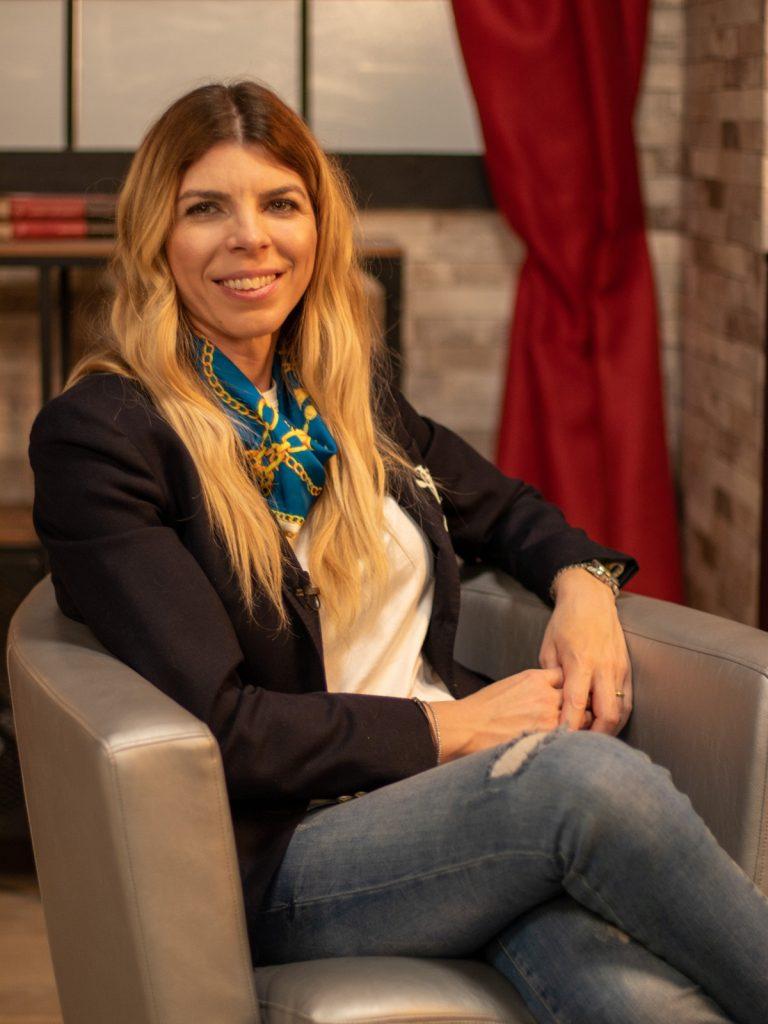 Denisa Zaharia, la ședința foto pentru interviul CaTine.ro