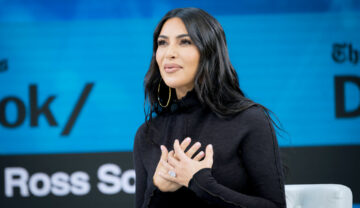 Kim Kardashian, la New York Times Dealbook, în anul 2019