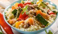 Cușcuș cu legume, perfect pentru masa de prânz sau cină