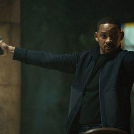 Wil Smith, pe platourile de filmare de la Bad Boys for Life, cu două pistoale în mână