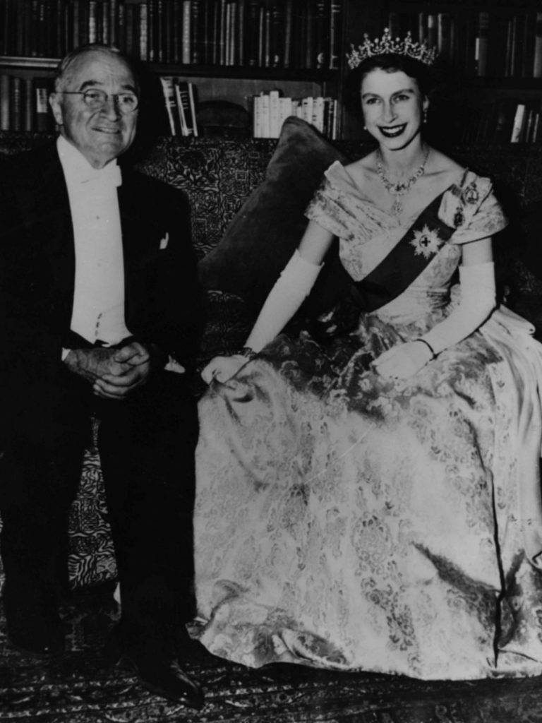 Harry S. Truman și Prințesa Elisabeta