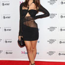 Emily Ratajkowski poartă o ținută sexy, în cadrul Festivalului de Film Tribeca, 2021