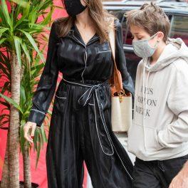 Angelina Jolie și Knox, în New York