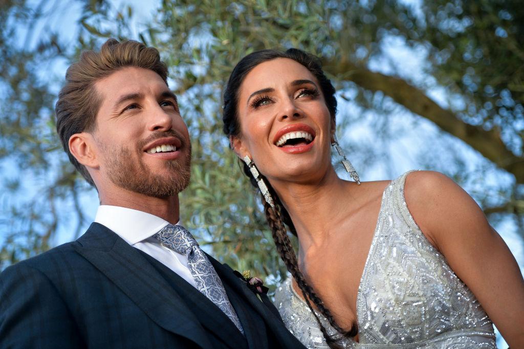 Pilar Rubio și Sergio Ramos, împreună, la ședința foto, de dinaintea nunții, în Sevilla, în 2019