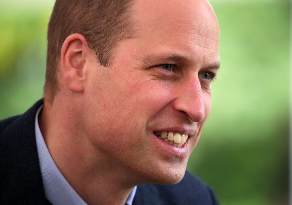 Prințul William, într-o vizită în Scoția, în mai 2021, abordând teme legate de Covid-19