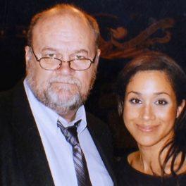 Thomas Markle, alături de Meghan Markle
