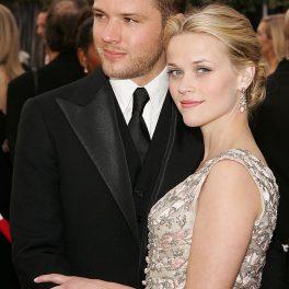 Reese Witherspoon și primul ei soț, Ryan Philippe, la Premiile Oscar, în anul 2006