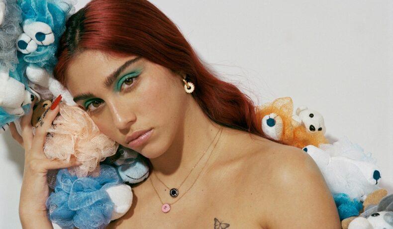 Lourdes Leon, fiica Madonnei, în timp ce pozează cu jucării pentru o campanie de modeling