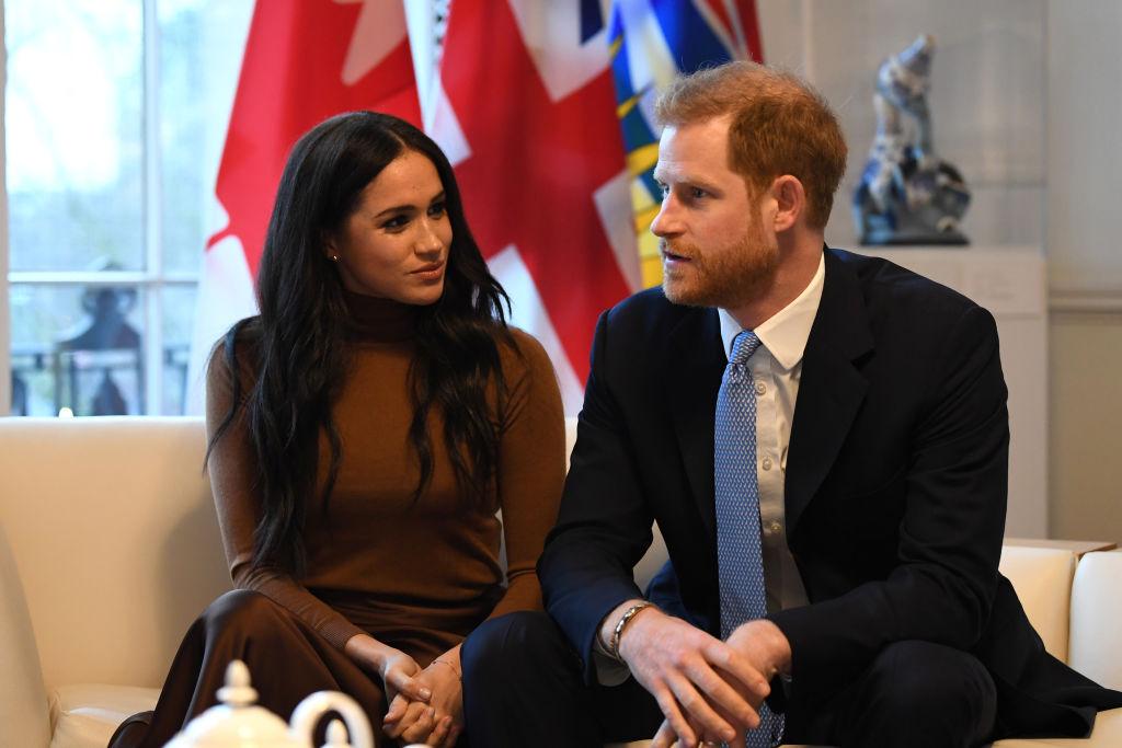 Meghan Markle și Prințul Harry, în timpul unei vizite în Canada, în anul 2020
