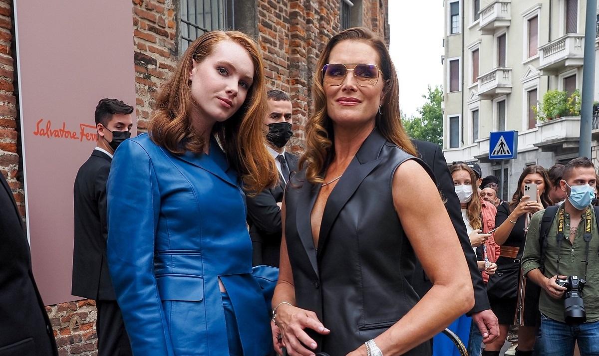 Brooke Shields și Grier Hammond Henchy au strălucit la Săptămâna Modei de la Milano. Cum au fost surprinse mama și fiica