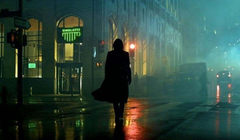 Keanu Reeves întors cu spatele în primele imagini din filmul Matrix 4