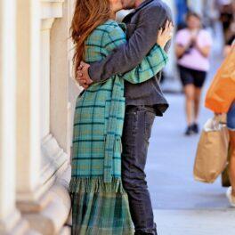 JLo și Ben Affleck, sărut în public, la o plimbare în New York
