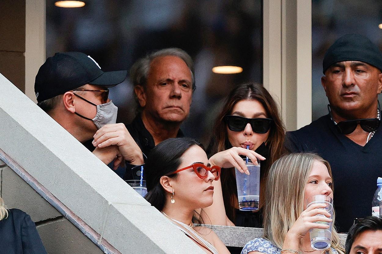 Camila Morrone și Leonardo DiCaprio, în tribune la US Open 2021