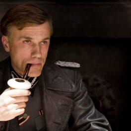 Christopher Waltz în filmul Inglourious Basterds, în care a jucat un colonel nazist
