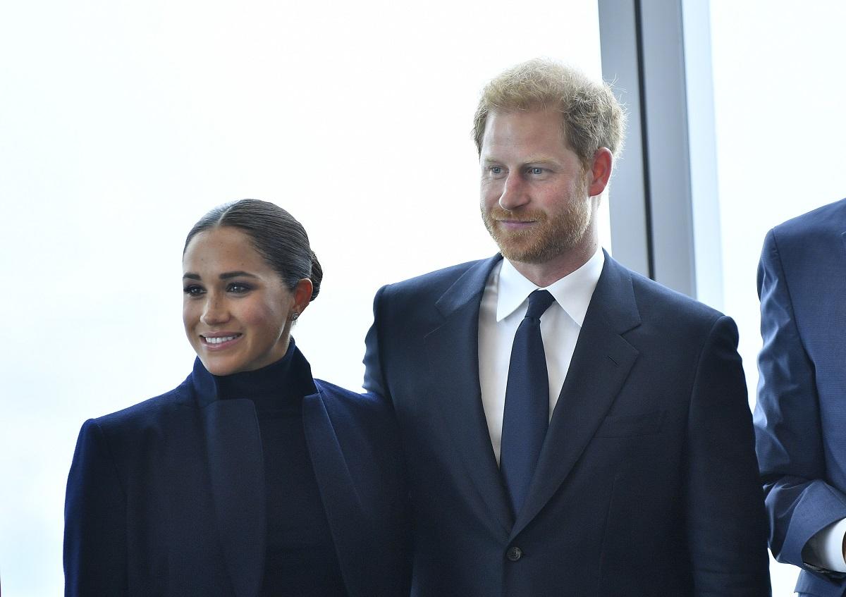 Maghan Markle alături de Prințul Harry la un eveniment privat din New York