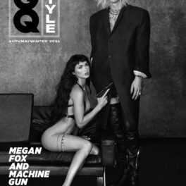 Megan Fox și Machine Gun Kelly au pozat împreună pentru coperta revistei GQ British
