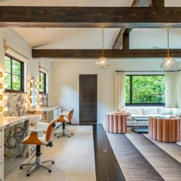 Una dintre camerele casei pe care Justin Timberlake a scos-o la vânzare