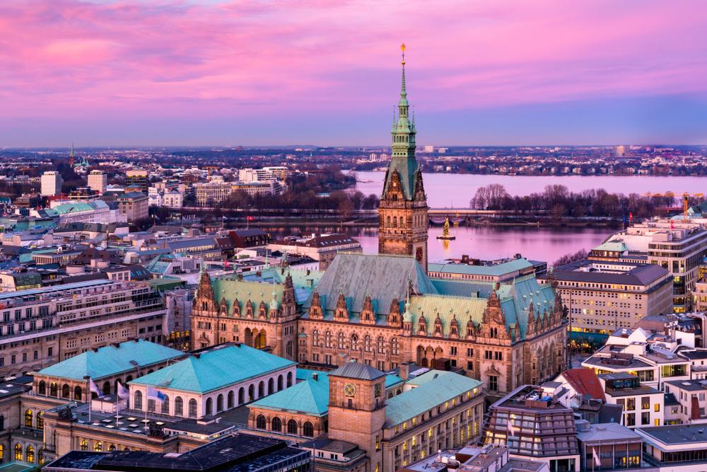 Hamburg, un oraș de poveste iarna, demn de trecut pe lista cu orașe europene de vizitat