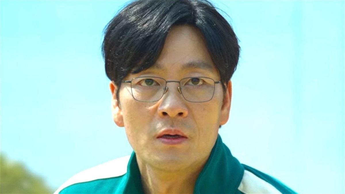 Actorul Park Hae Soo pe platoul de filmare de la Squid Game