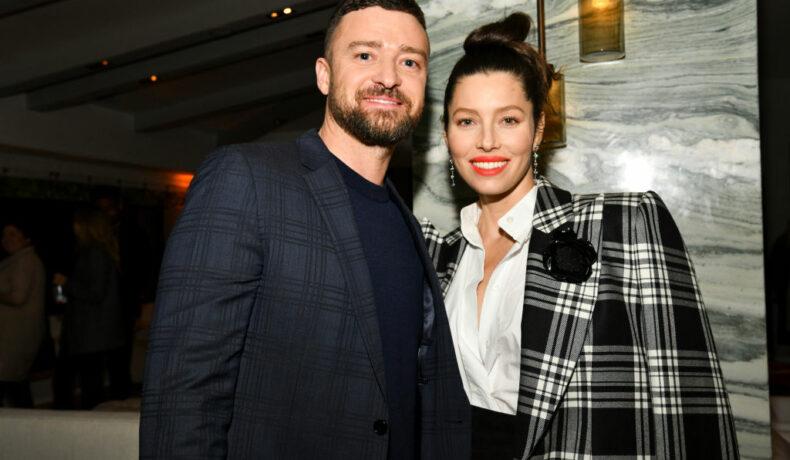Justin Timberlake și Jessica Biel, la premiera The Sinner, în anul 2020