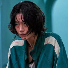 Jung Ho-yeon în rolul jucătoarei 067 într-o scenă din Squid Game